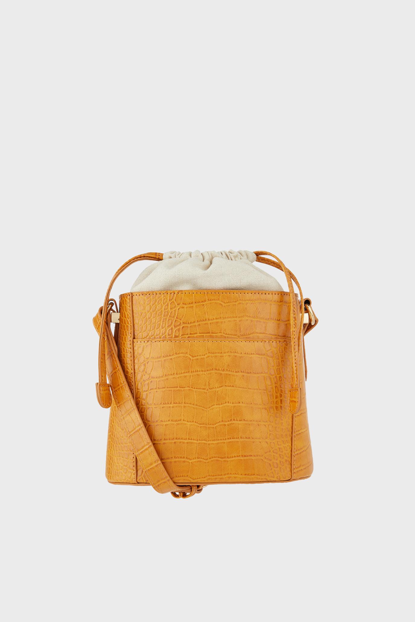 996458f6e76f Купить Женская оранжевая сумка FF CROC OLIVIA BUCKE Accessorize Accessorize  689932 – Киев, Украина. Цены в интернет ...