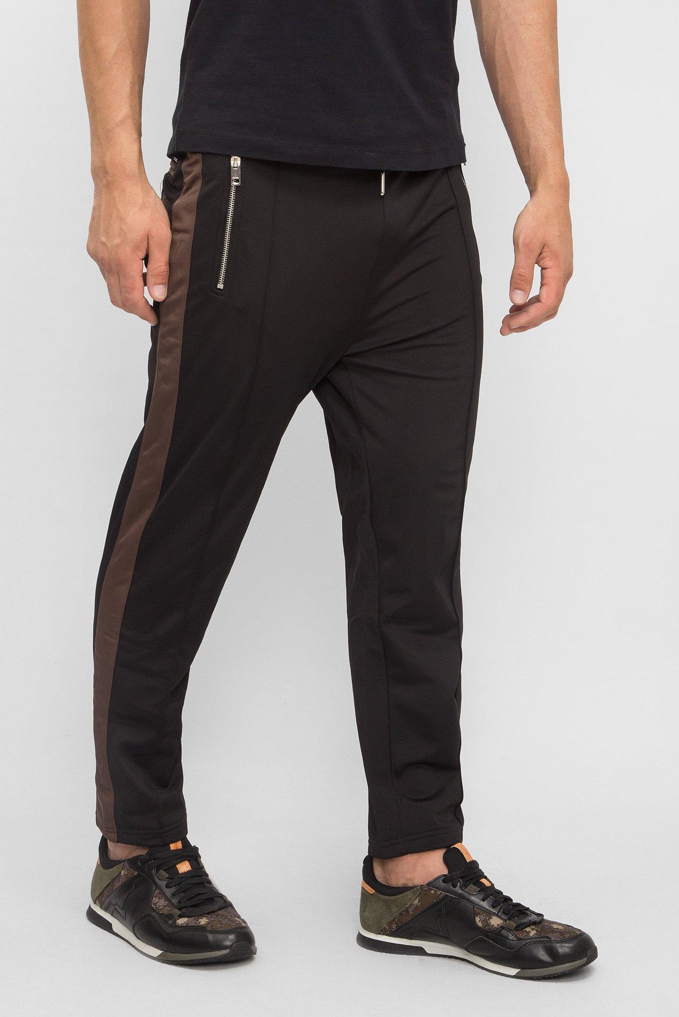 a7db8a19e348 Купить Мужские черные спортивные брюки Diesel Diesel 00SVA3 0NAOA – Киев,  Украина. Цены в интернет магазине MD Fashion