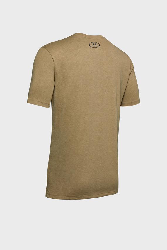 Мужская зеленая футболка SPORTSTYLE BLOCKED