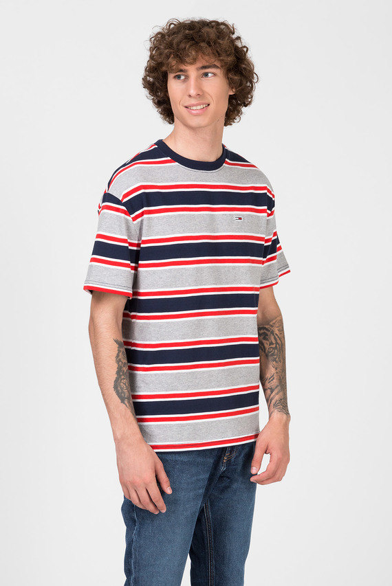 Мужская футболка в полоску TJM BOLD STRIPE
