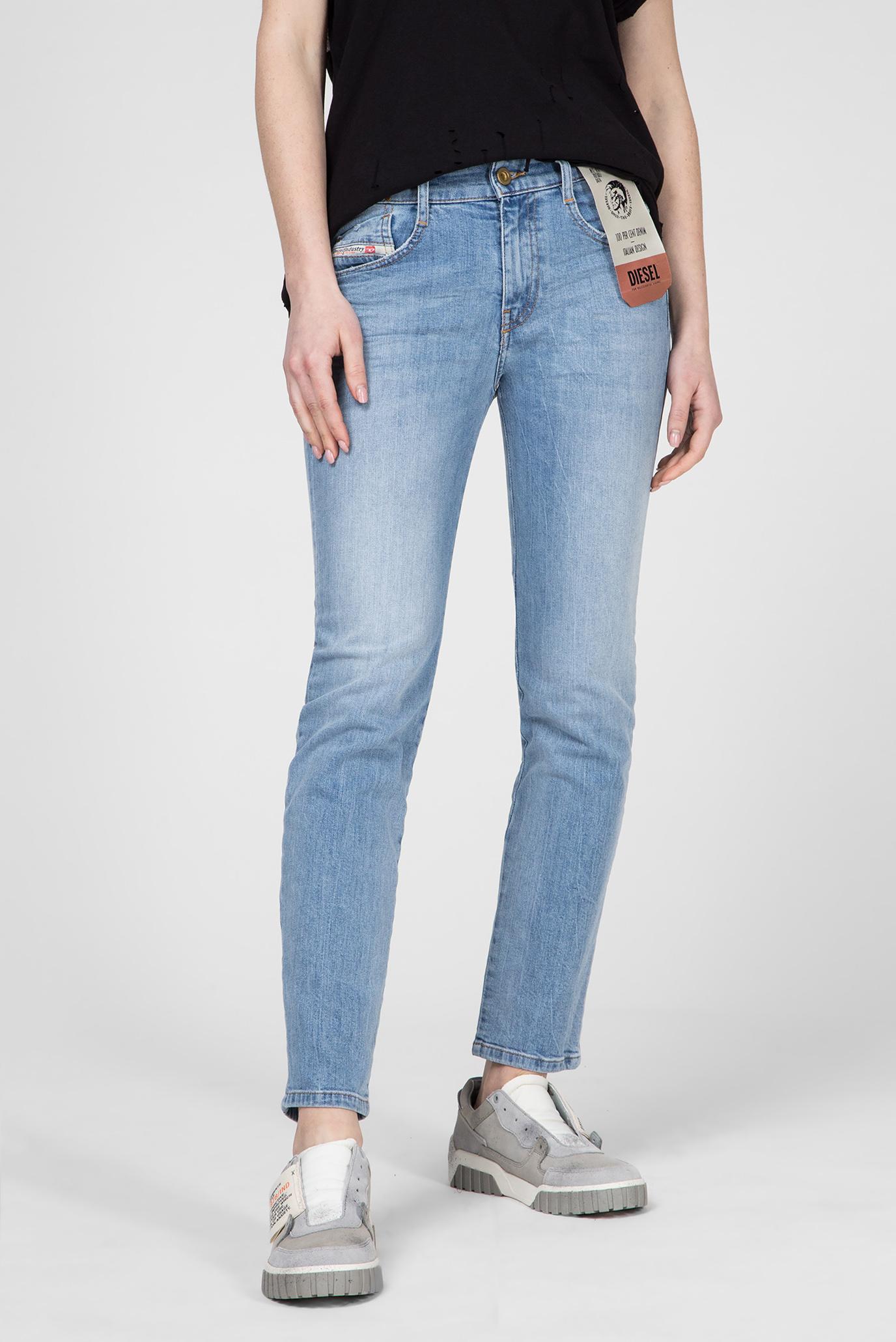 Купить Женские голубые джинсы D-RIFTY Diesel Diesel 00SMN0 081AL – Киев, Украина. Цены в интернет магазине MD Fashion