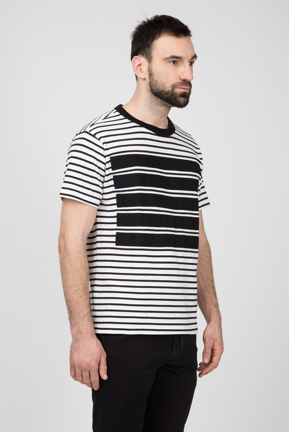 Мужская футболка в полоску T-WALLACE-STRIPE