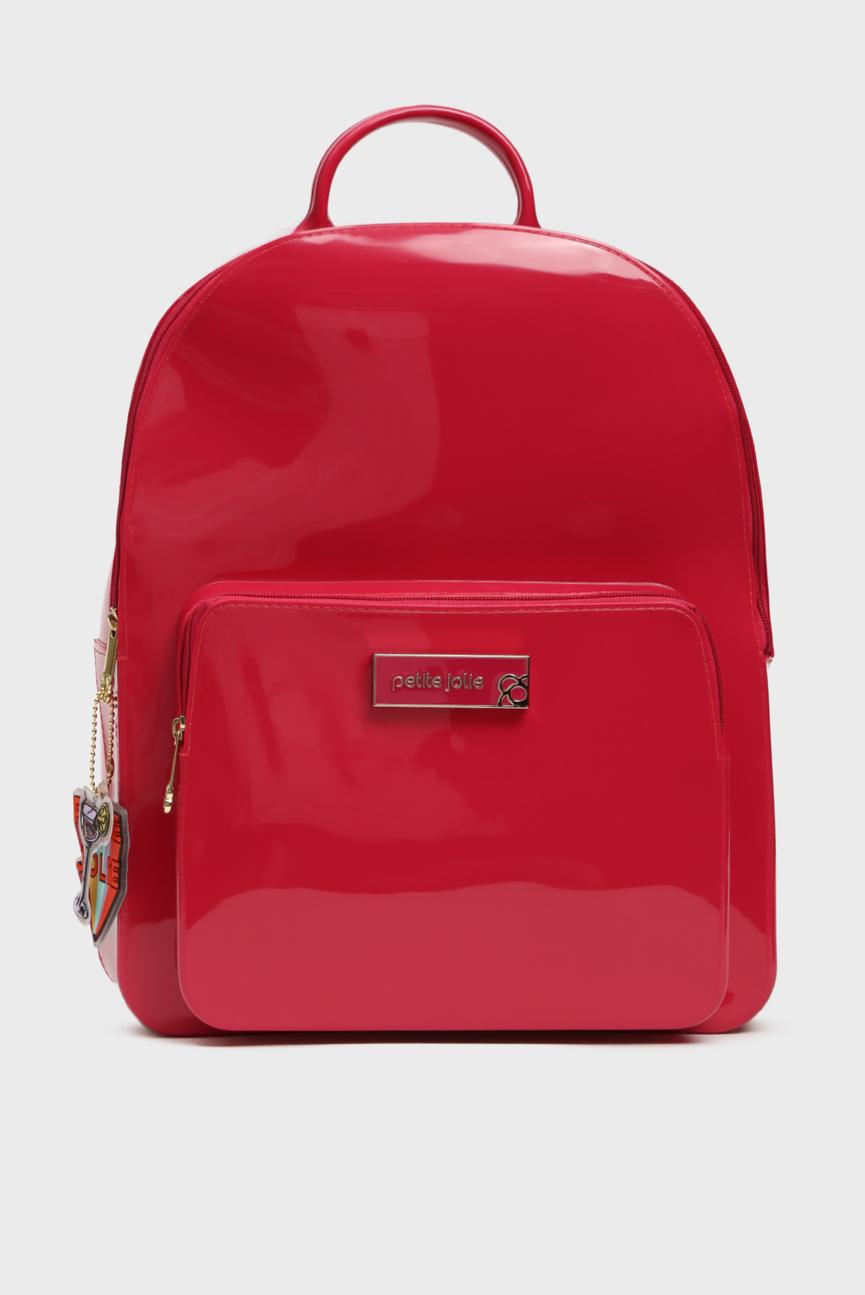 Женский малиновый рюкзак KIT