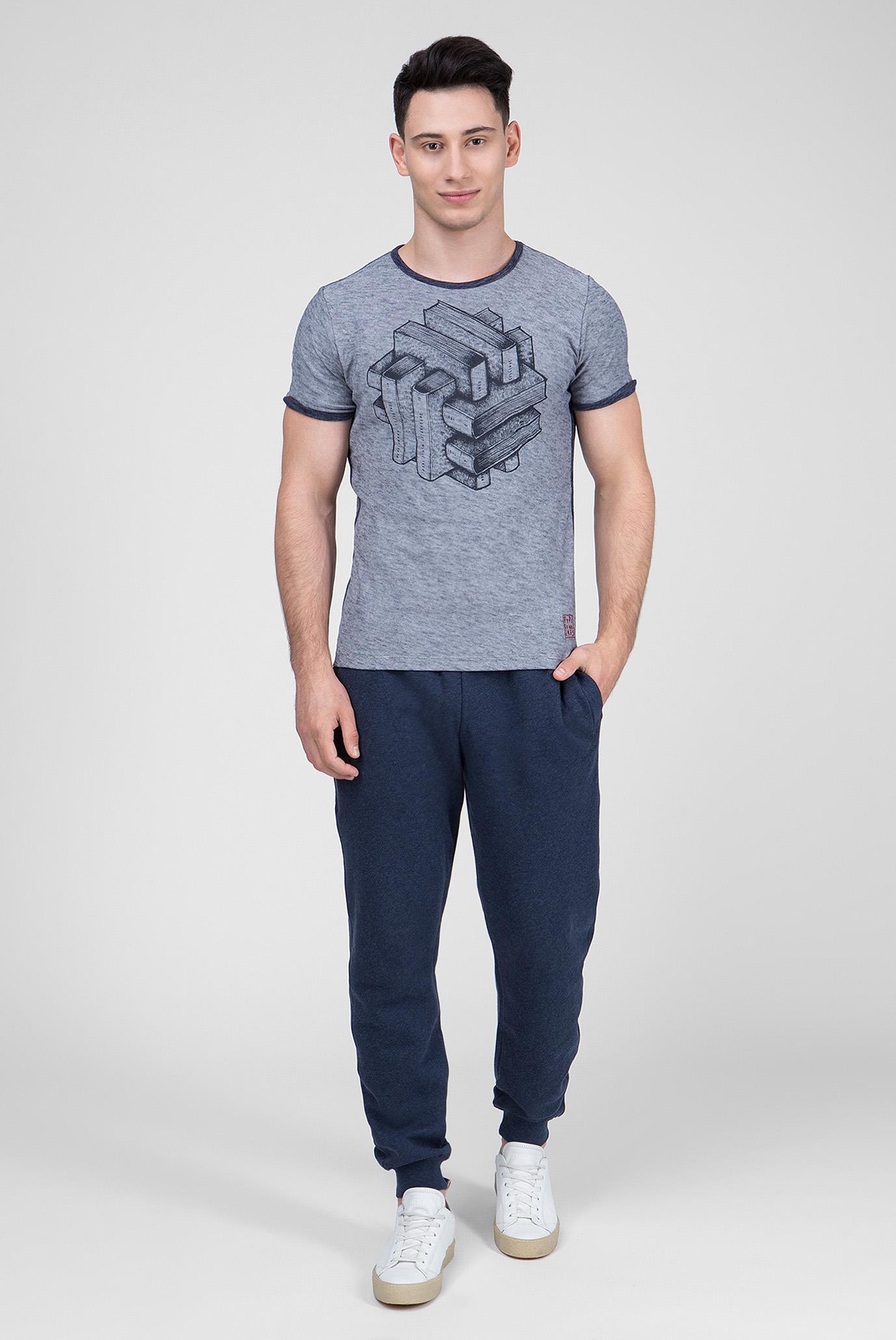Купить Мужские синие спортивные брюки HUGEN Pepe Jeans Pepe Jeans PM211187 – Киев, Украина. Цены в интернет магазине MD Fashion