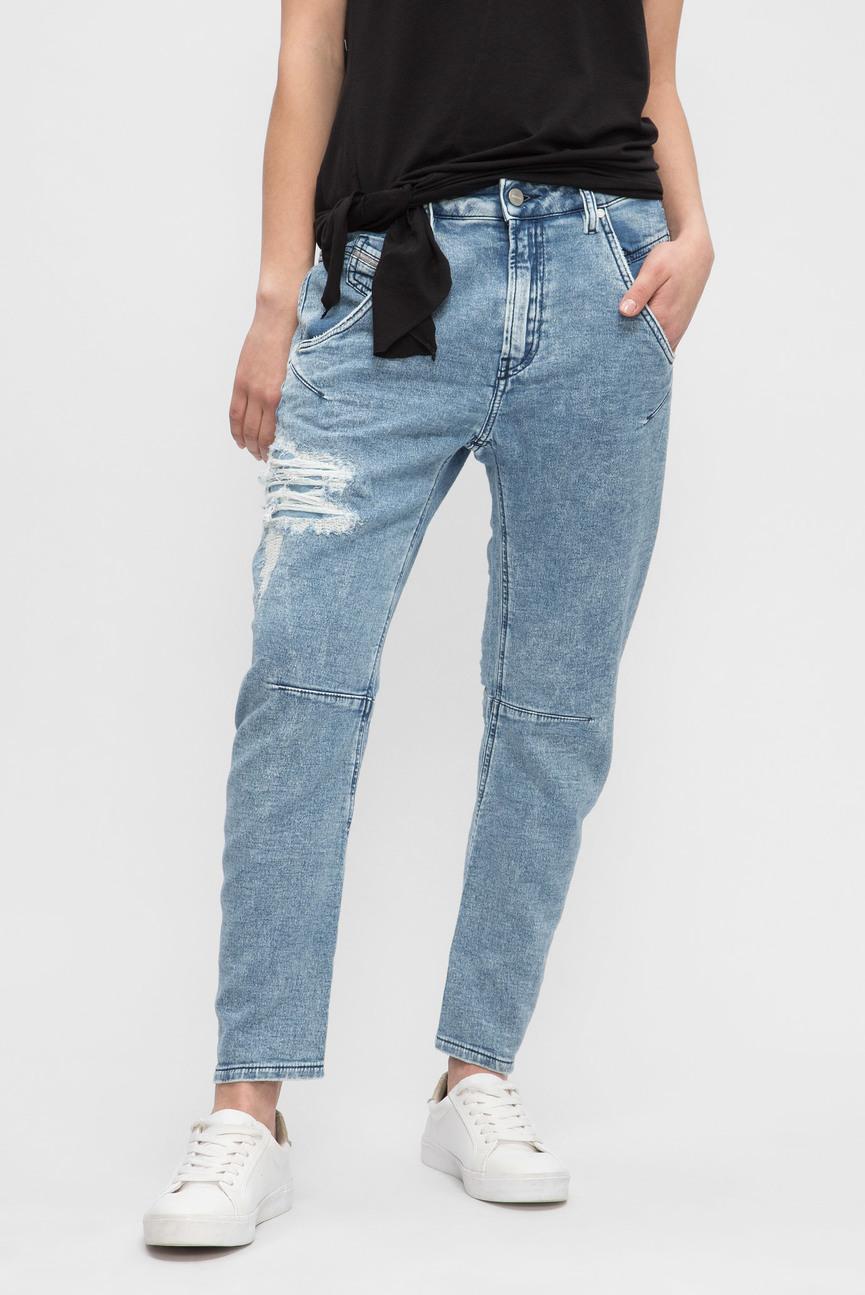 Женские голубые джинсы FAYZA-T