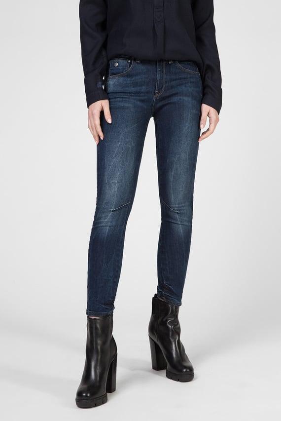 Женские синие джинсы Arc 3D Mid Skinny