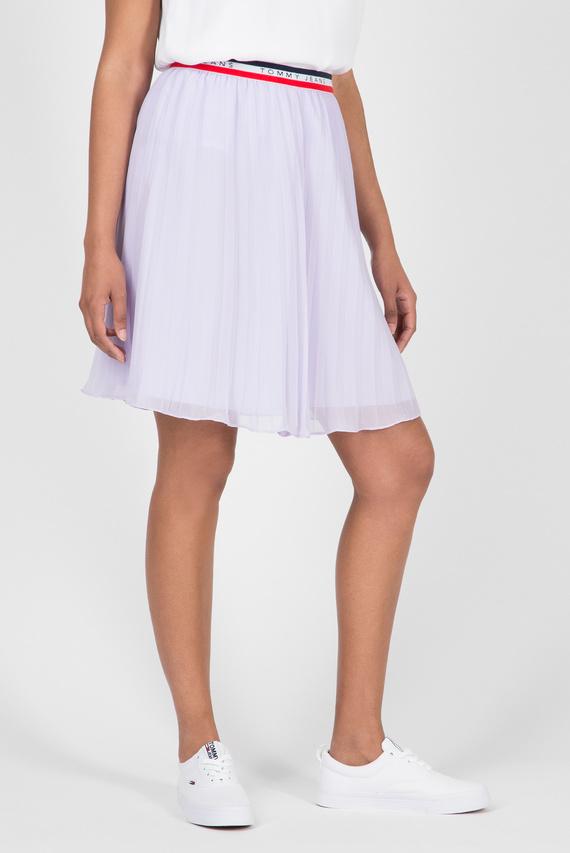 Женская сиреневая плиссированная юбка TJW PLEATED