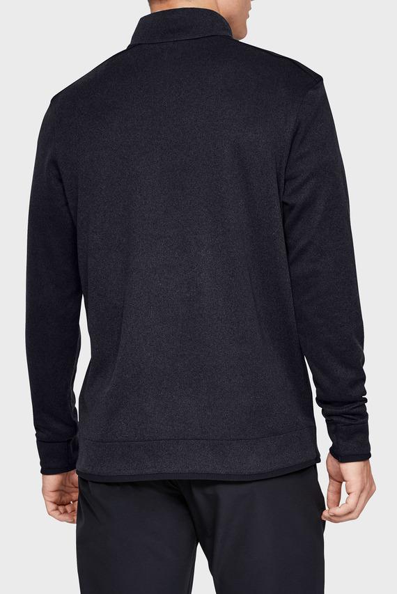 Мужская черная кофта SweaterFleece 1/2 Zip