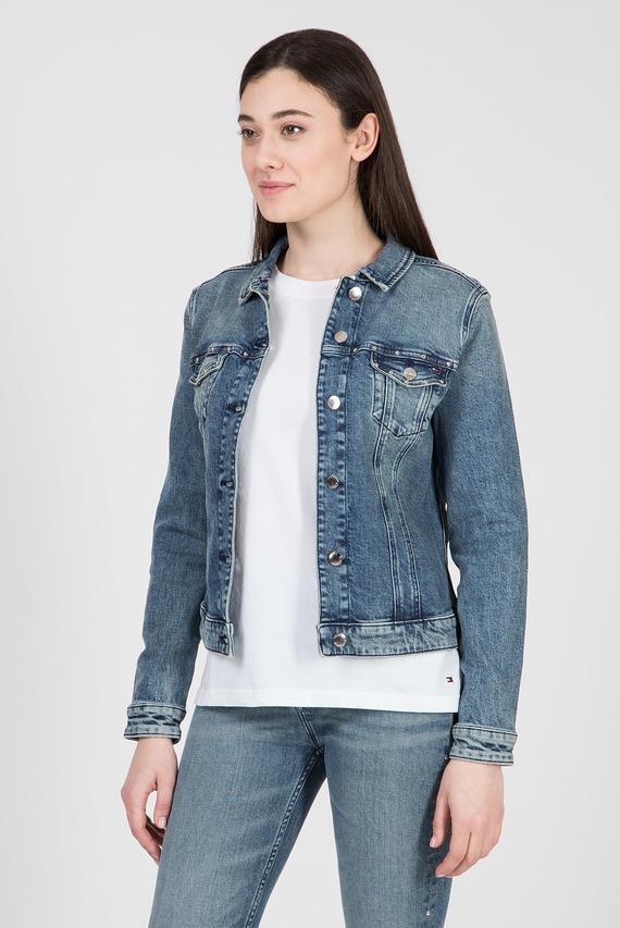 Женская синяя джинсовая куртка VERONA