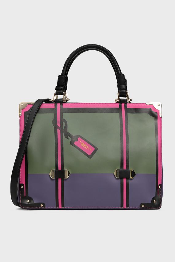 Женская зеленая сумка на плечо ALICE