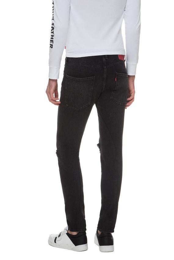 Мужские черные джинсы 512 Slim Taper