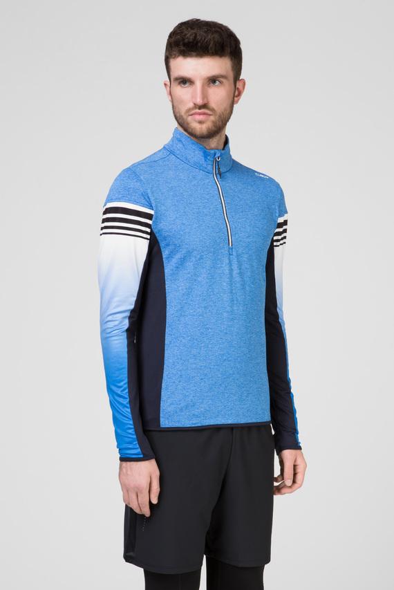 Мужская голубая спортивная кофта