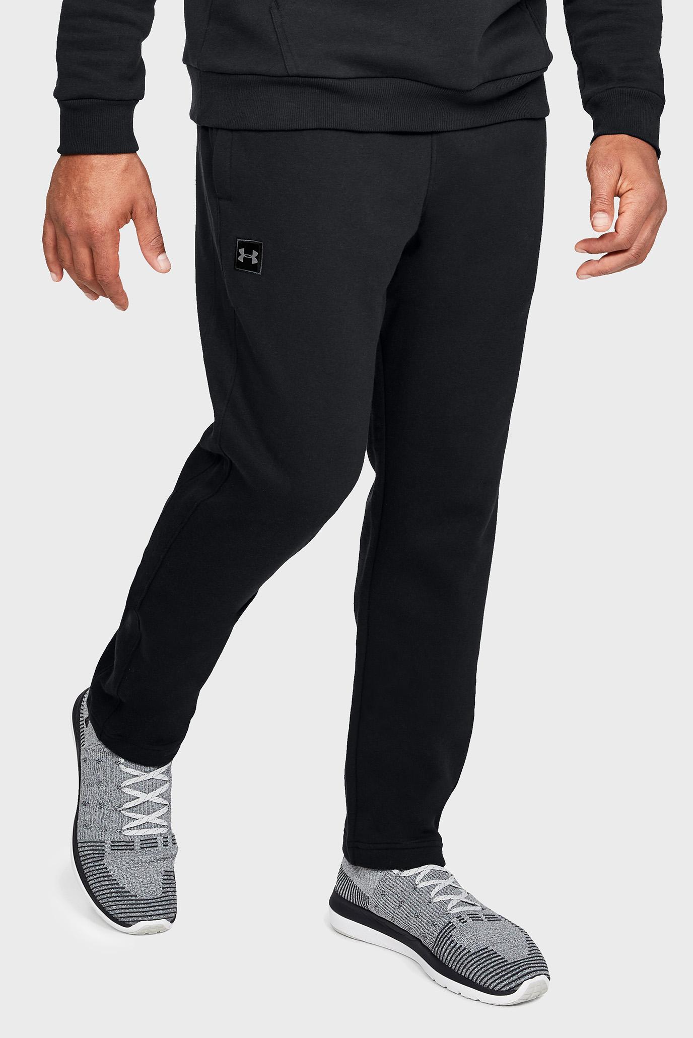 Мужские черные спортивные брюки RIVAL FLEECE Under Armour