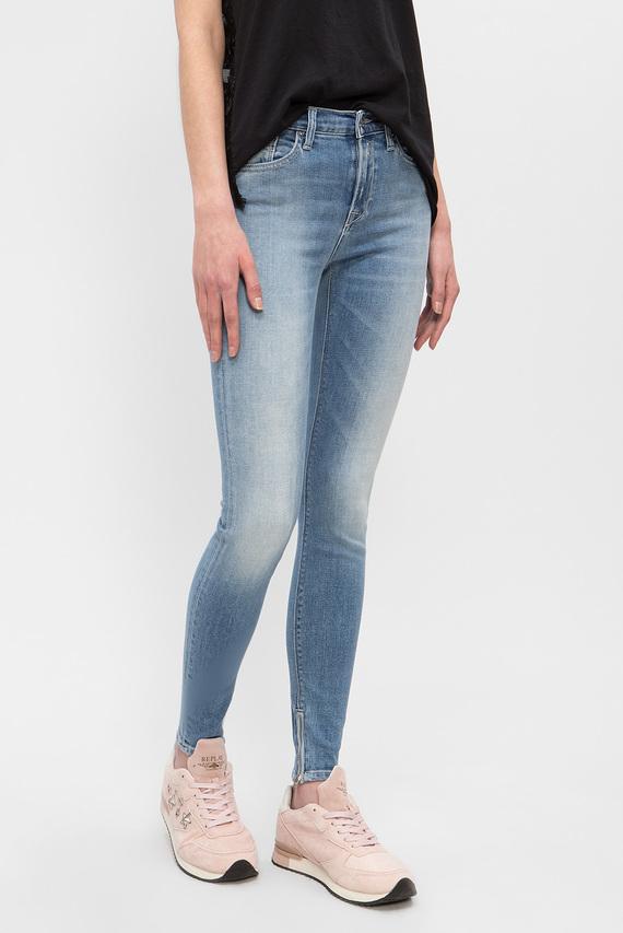 Женские голубые джинсы JOI ANKLE ZIP