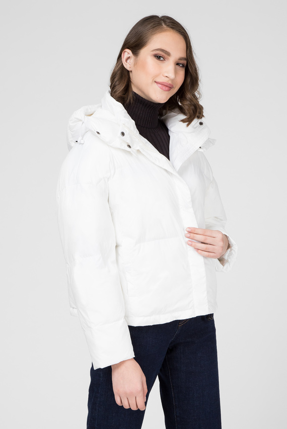 Женская белая куртка IRIS