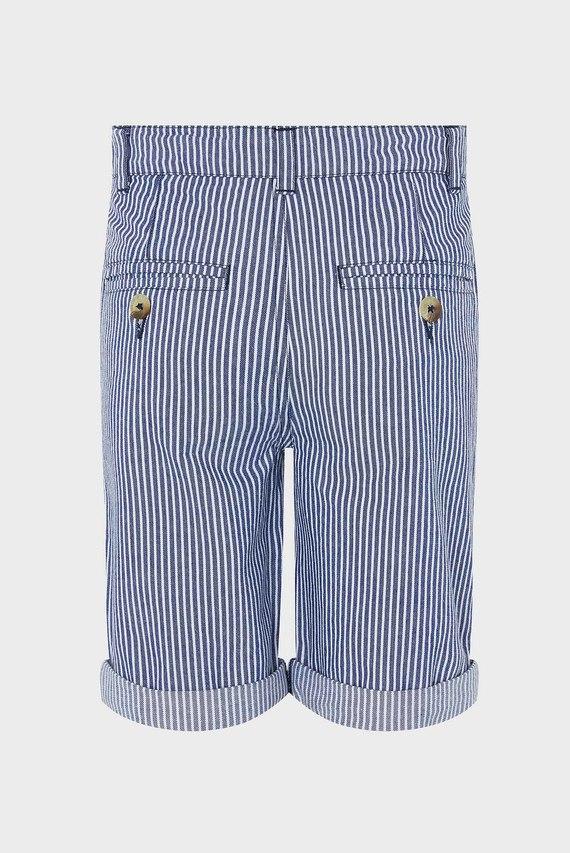 Детские синие шорты Tommy