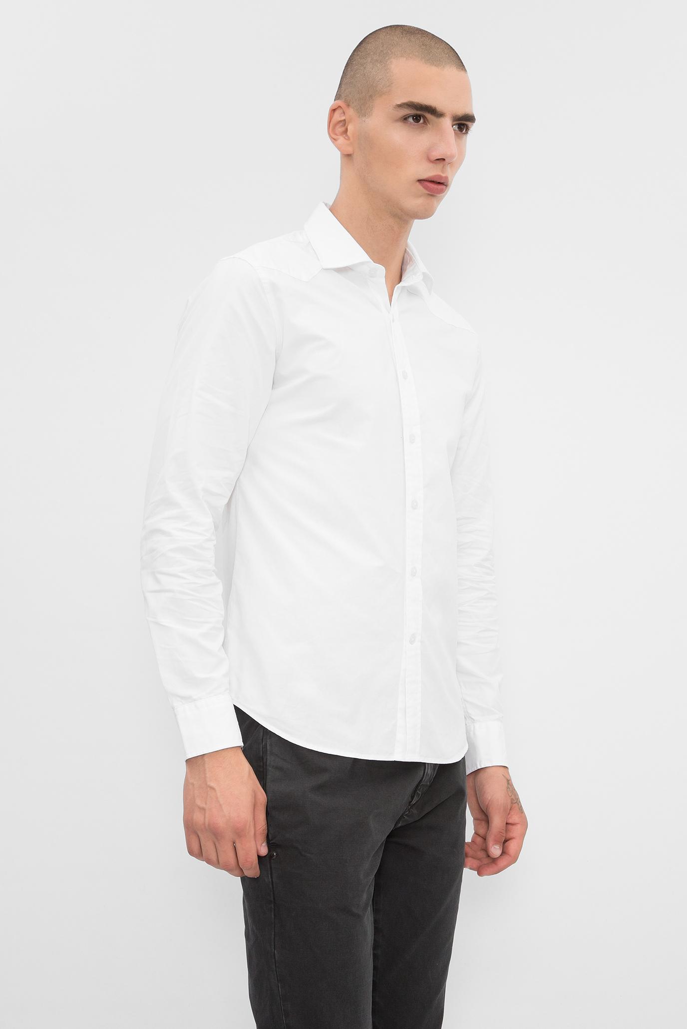 88caa0cfdec6354 Купить Мужская белая рубашка Replay Replay M4908A.000.51896 – Киев, Украина.  Цены в интернет магазине MD Fashion