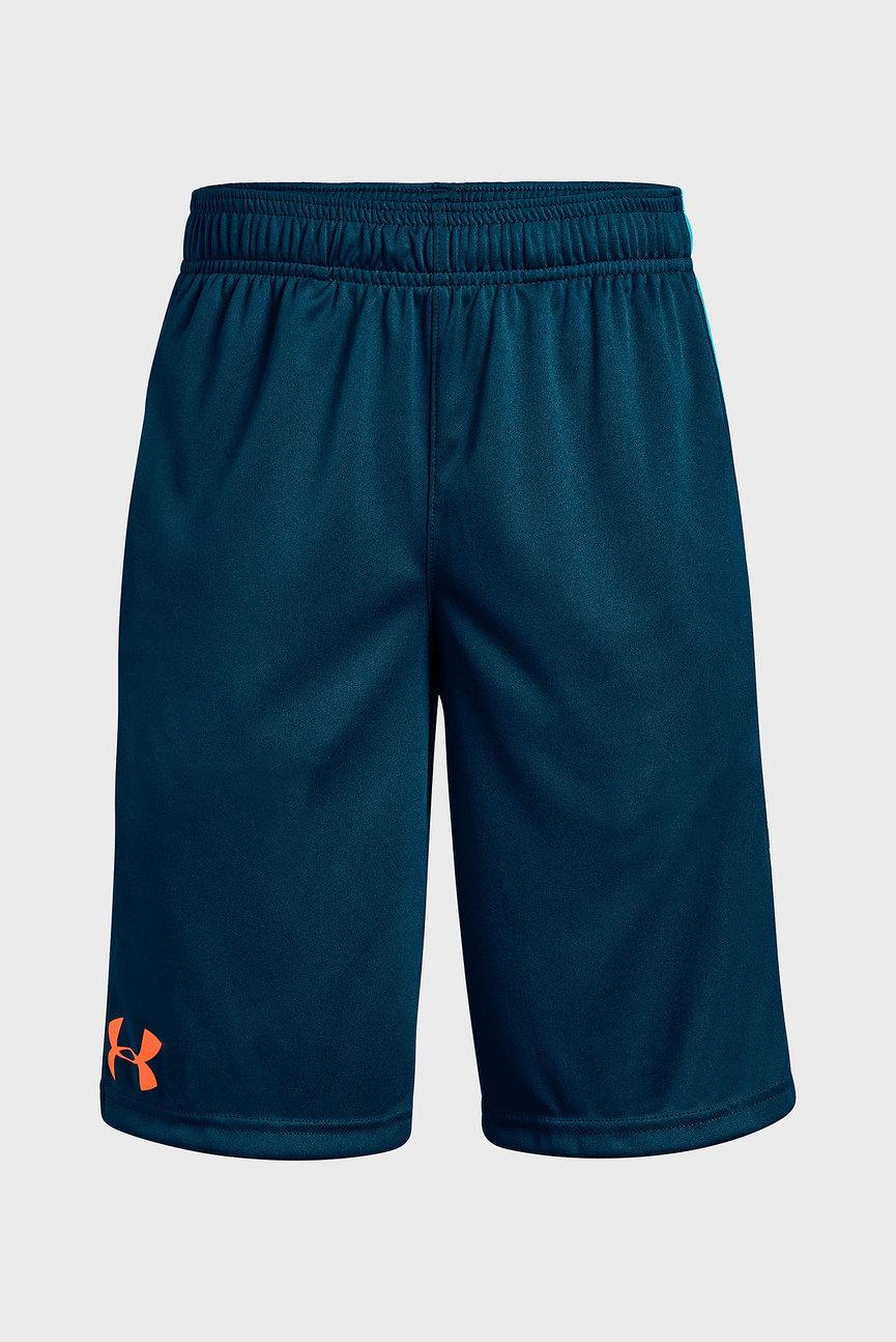 Детские темно-синие шорты UA Stunt Short