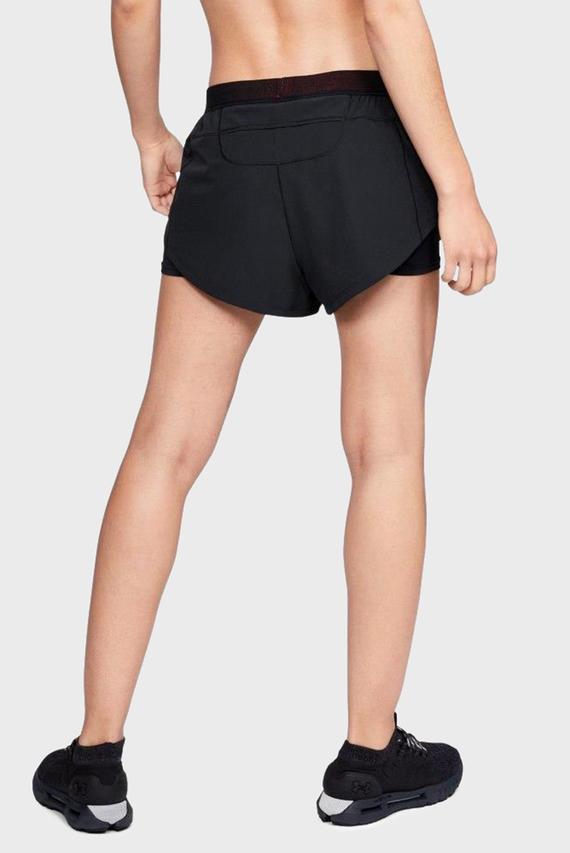 Женские черные шорты Perpetual Run 2-in-1