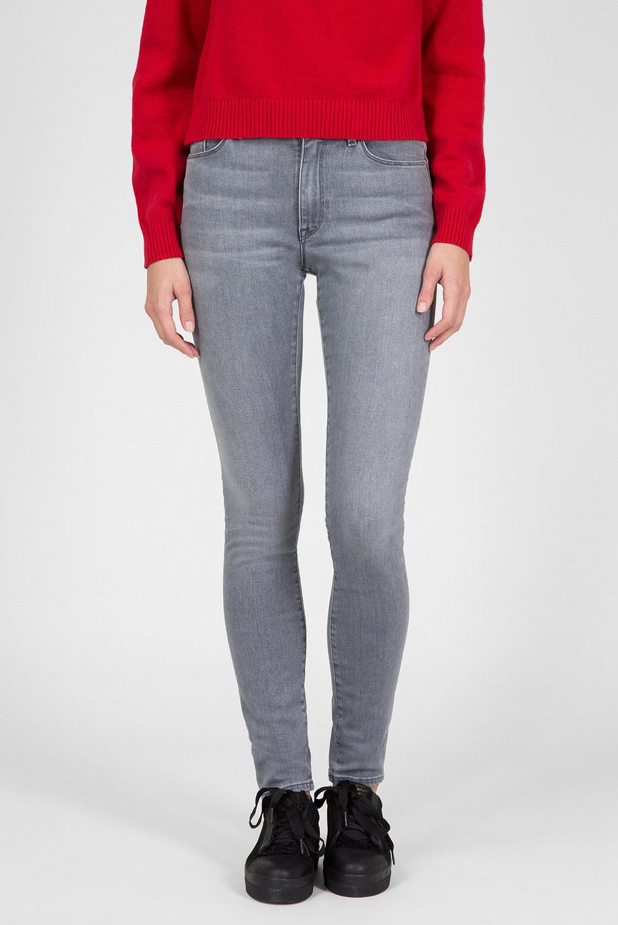 Женские серые джинсы SKINNY SUPER STRETCH JEANS