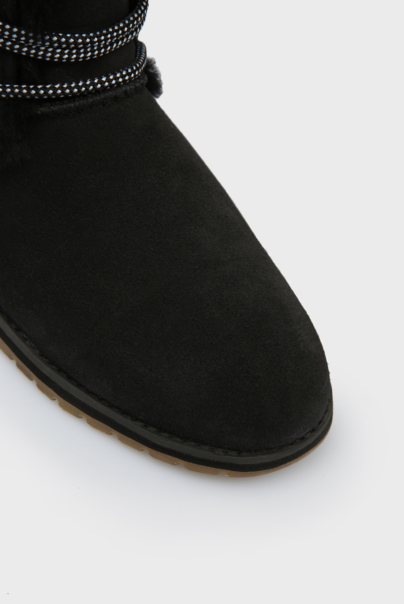 Купить Женские черные замшевые полусапоги Illawong EMU Australia  EMU Australia  W11657 – Киев, Украина. Цены в интернет магазине MD Fashion