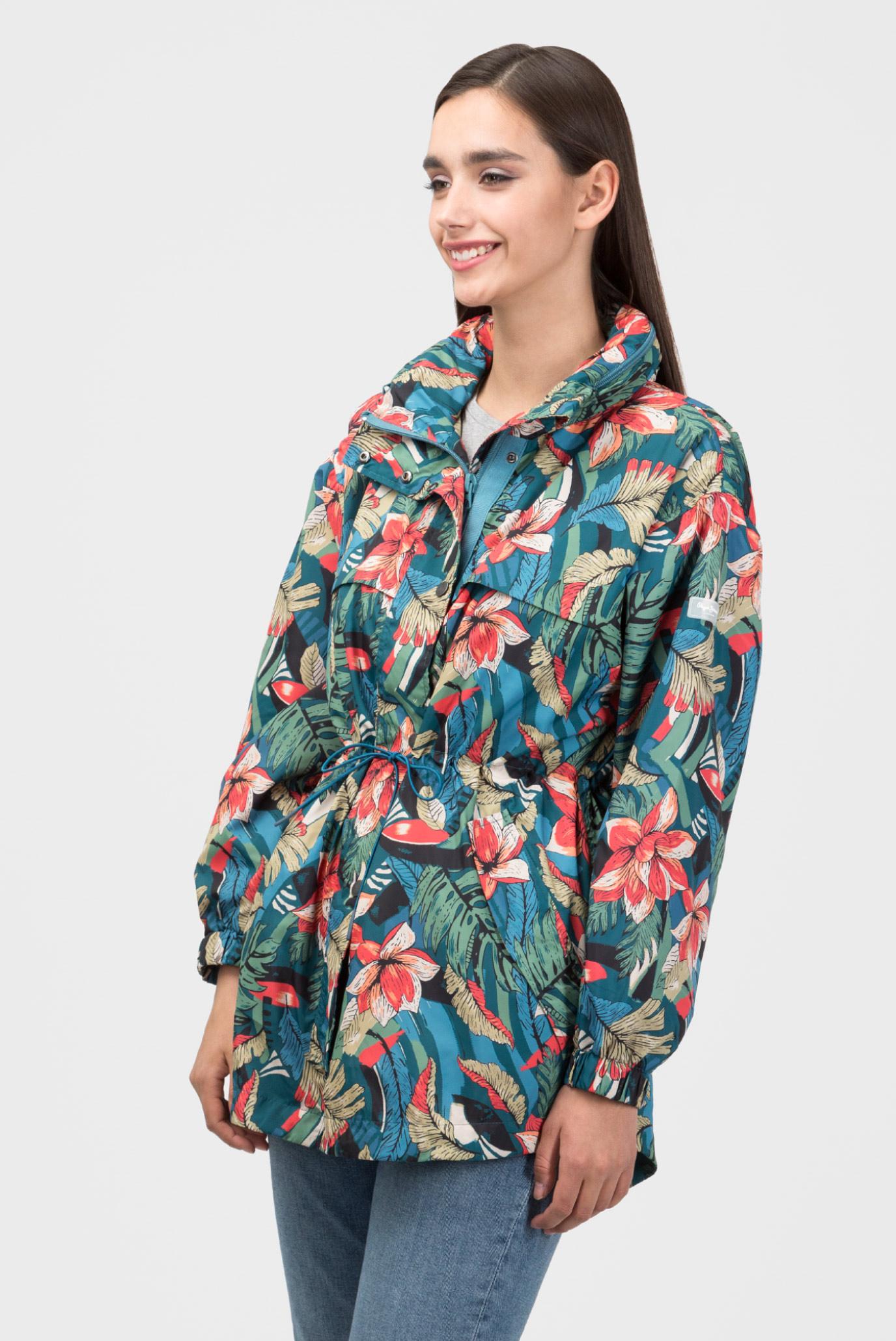 Купить Женская удлиненная куртка с принтом ALISON Pepe Jeans Pepe Jeans PL401635 – Киев, Украина. Цены в интернет магазине MD Fashion