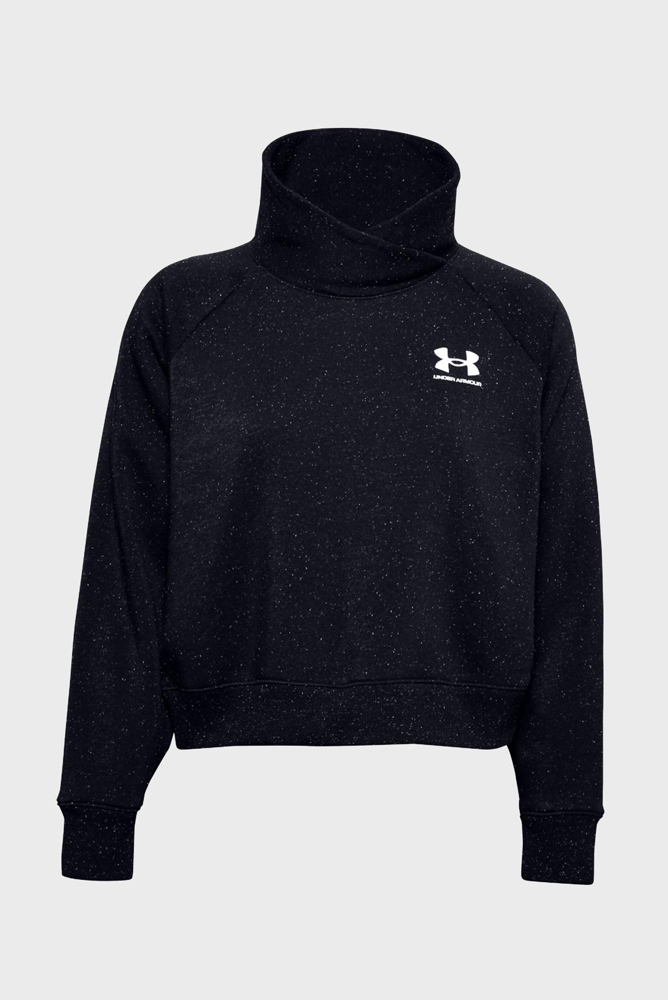 Женский черный свитшот Rival Fleece Wrap Neck PO 1