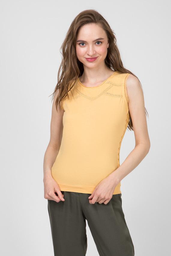 Женский желтый топ