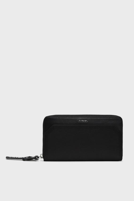 Женский черный кожаный кошелек MISS-MATCH / GRANATO LC