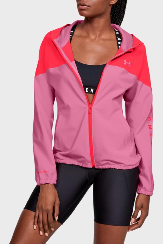 Женское розовое спортивное худи Woven Hooded Jacket