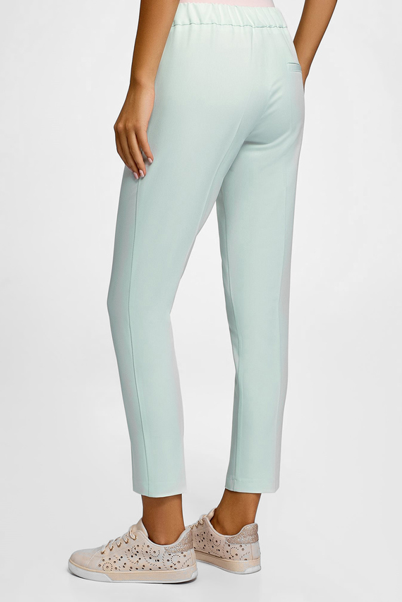 Женские голубые брюки