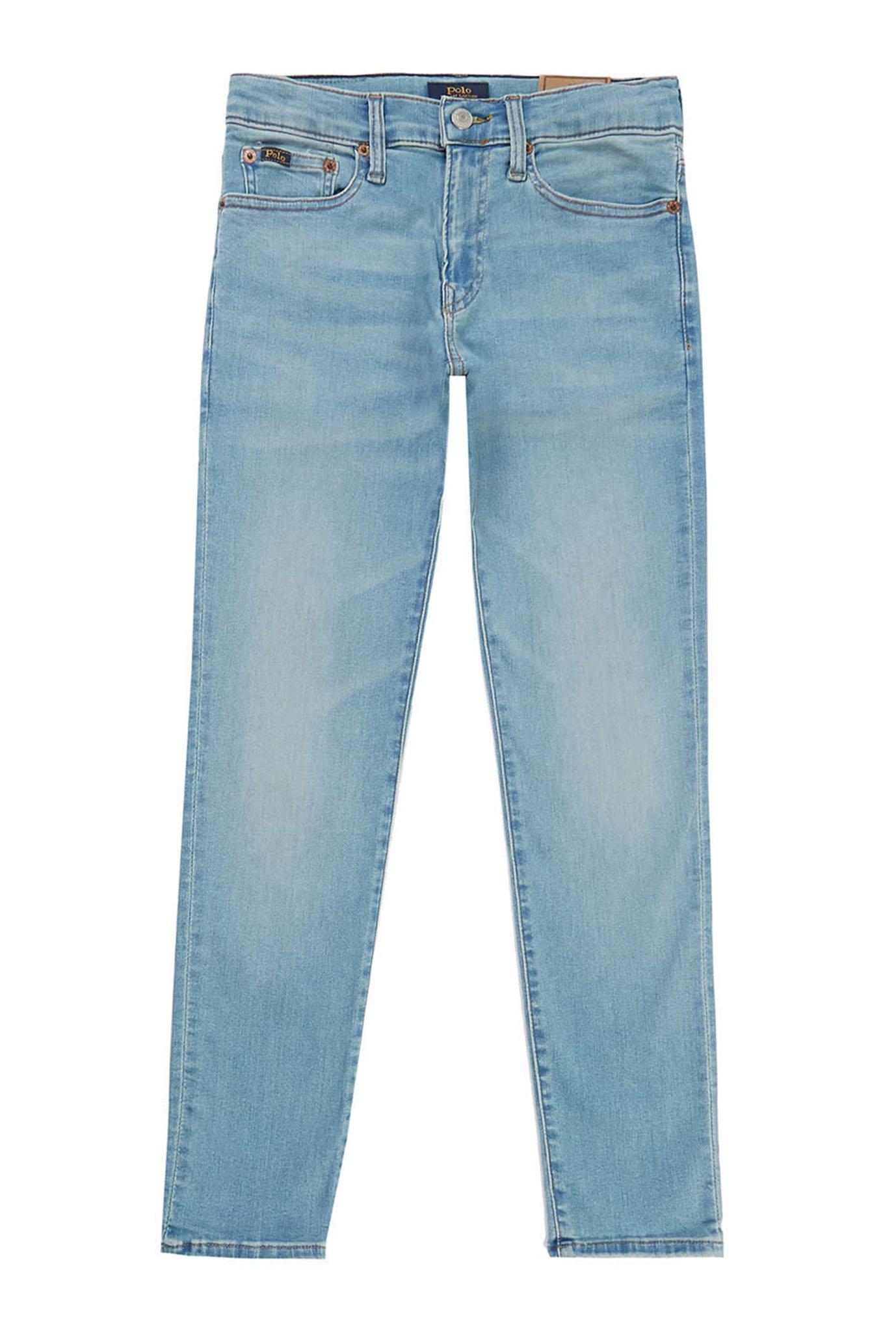 Детские голубые джинсы 1