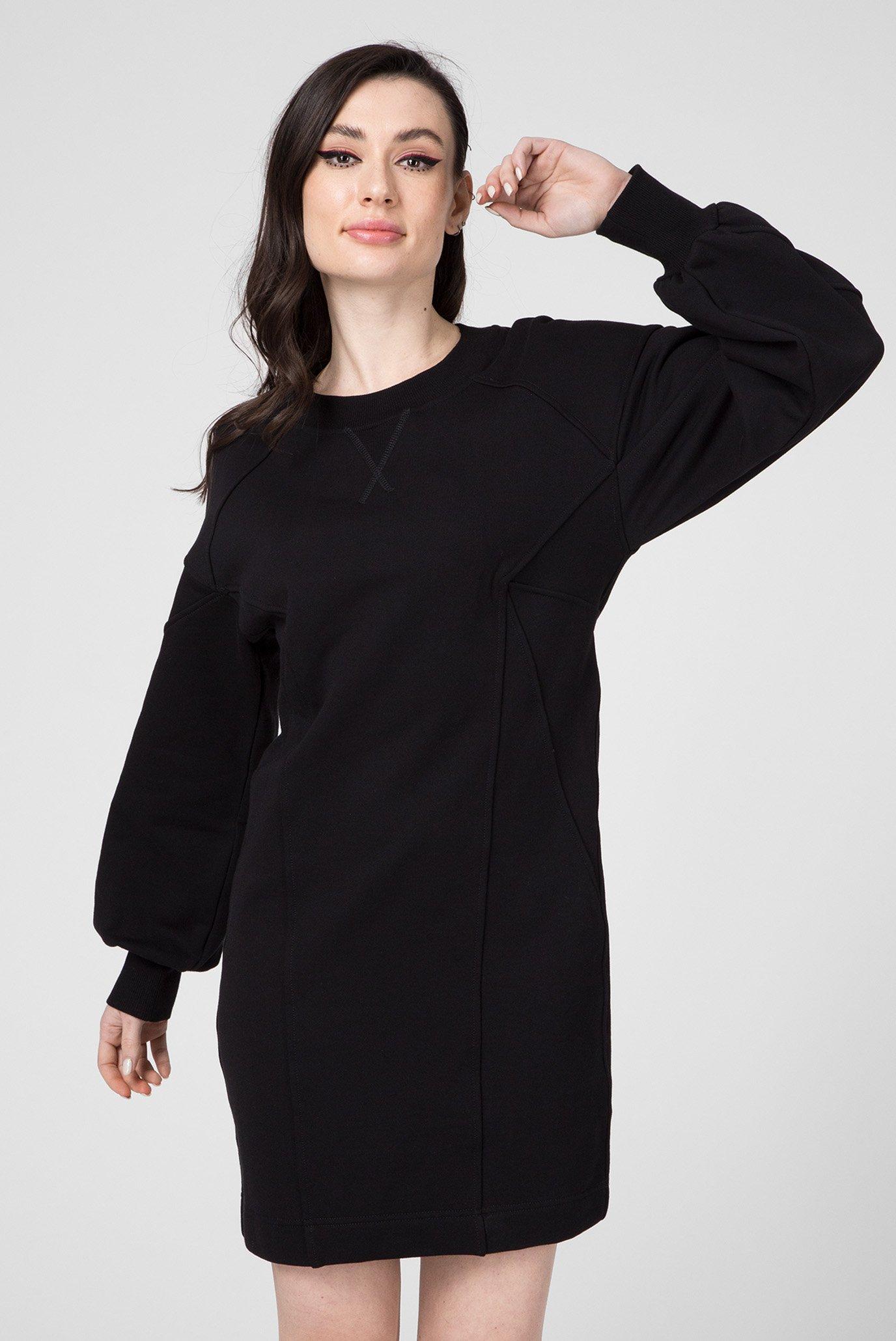 Женское черное платье D-THUS DRESS 1