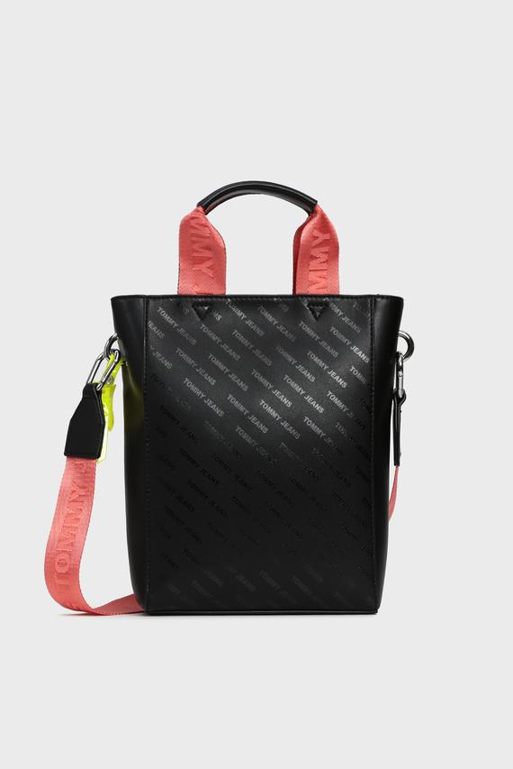 Женская черная сумка через плечо TJW HYPE GIRL PU SMALL N/S TOTE
