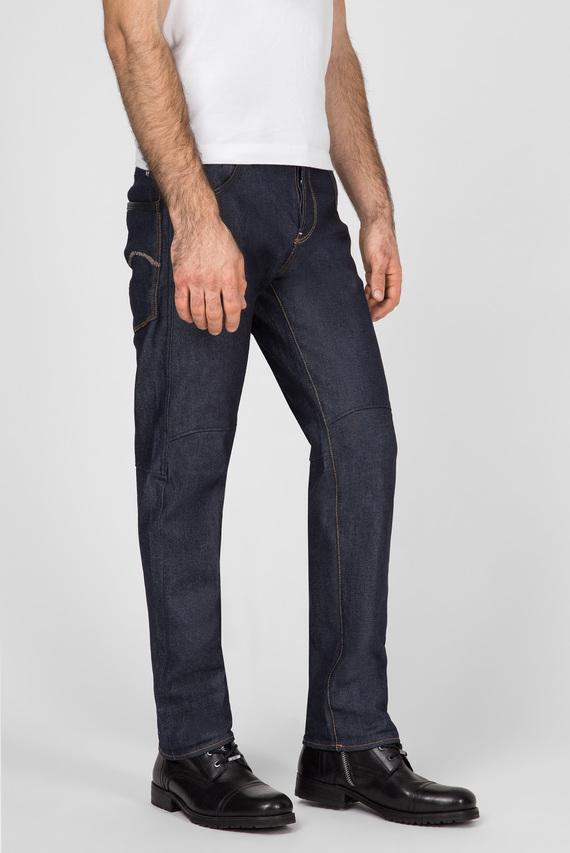 Мужские темно-синие джинсы 30 Years New York Jackpant 3D Straight