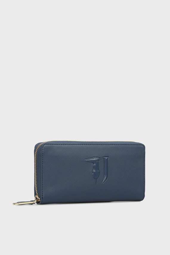 Женский синий кошелек ISCHIA