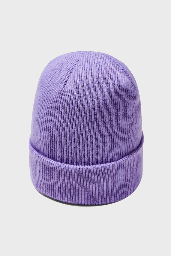 Детская сиреневая шапка Girl's Favorite Patch Beanie