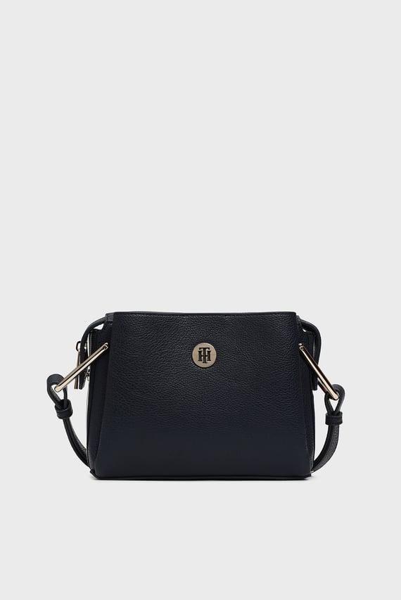Женская темно-синяя сумка через плечо TH CORE CROSSOVER CORP
