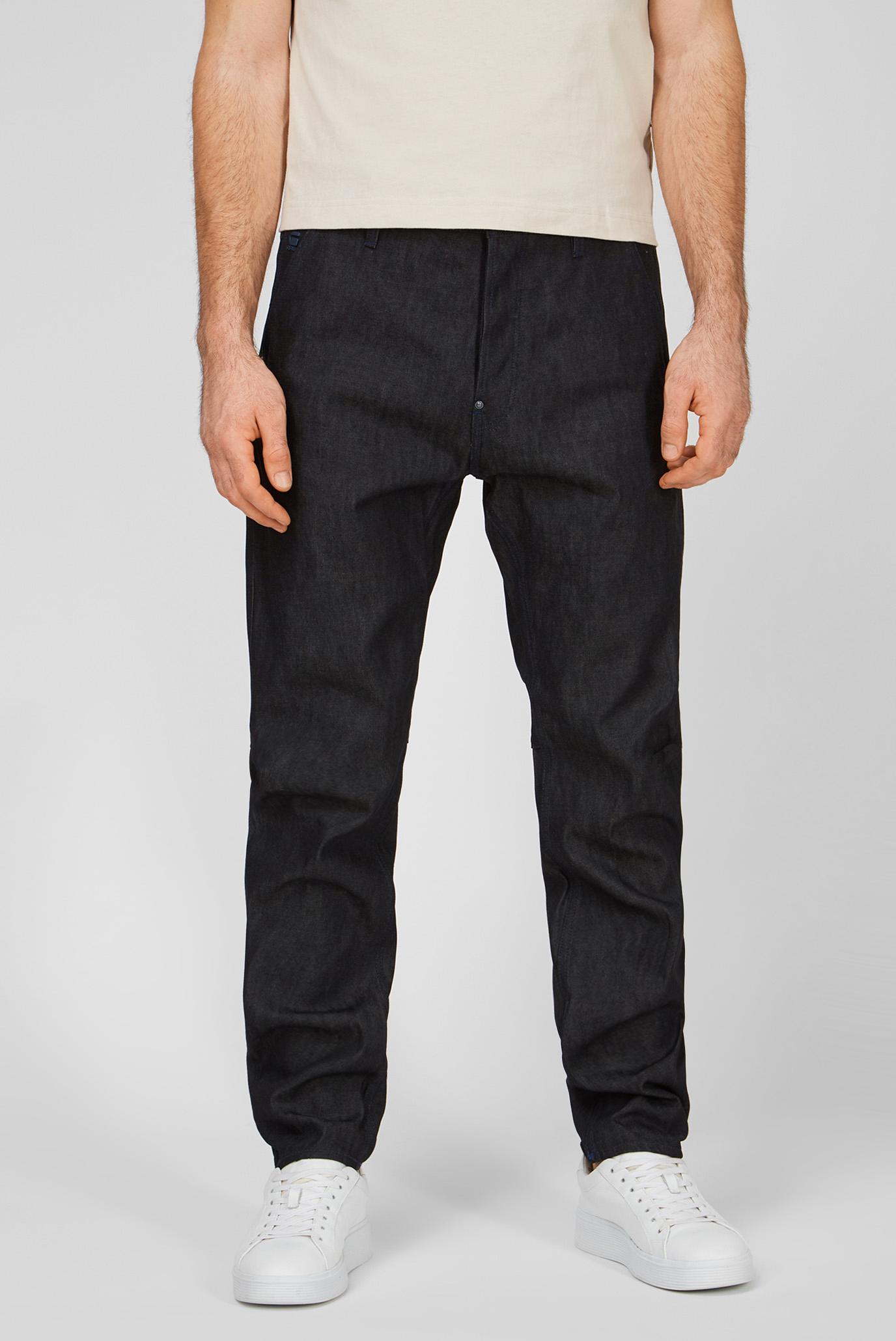 Чоловічі чорні джинси Grip 3D Relaxed Tapered 1