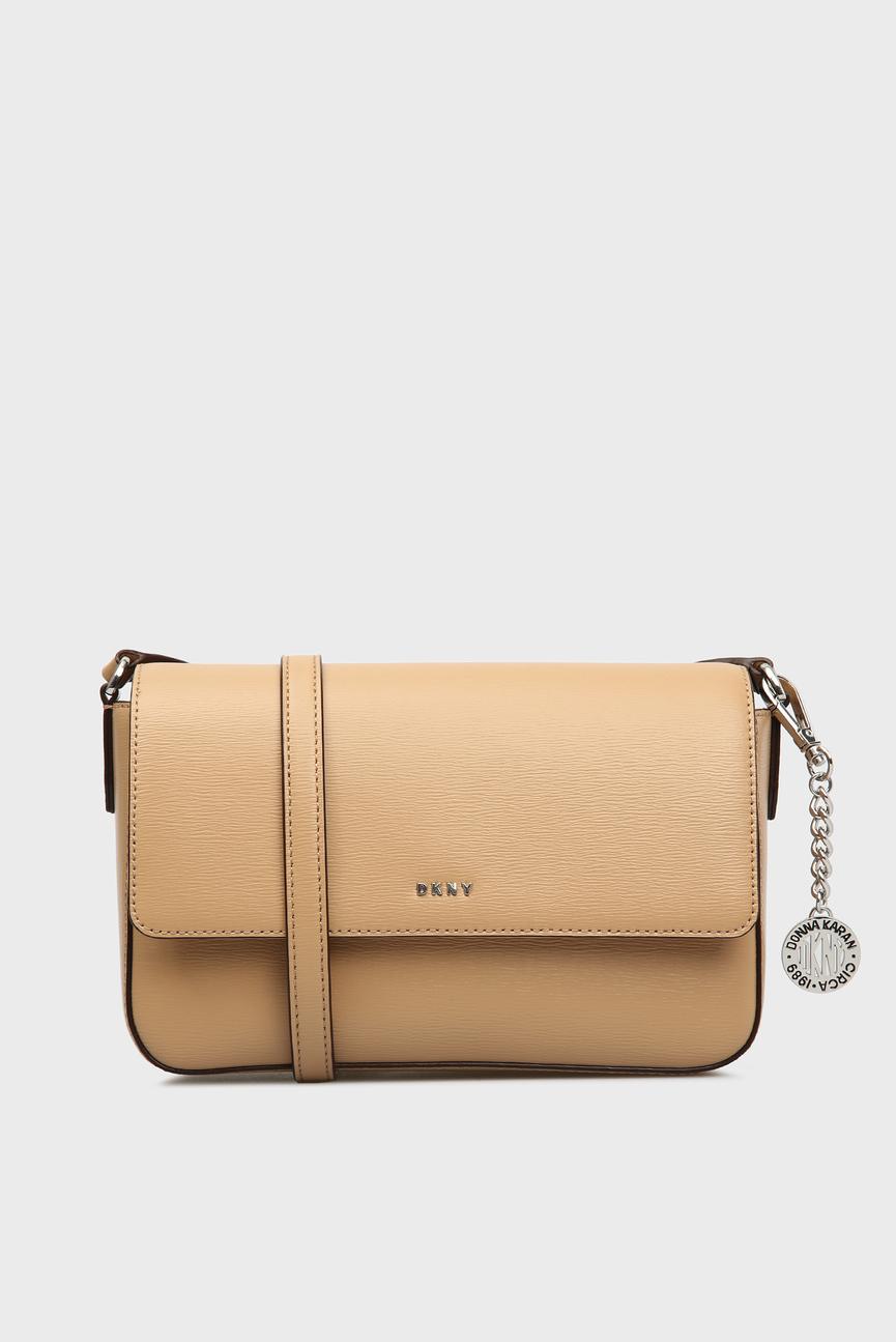 Женская бежевая сумка через плечо BRYANT-MD