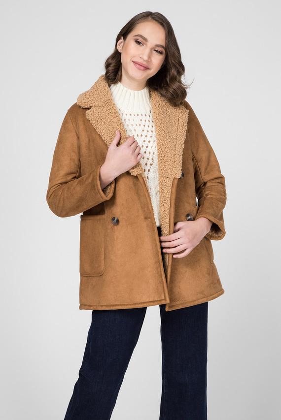 Женское рыжее пальто PATRICIA