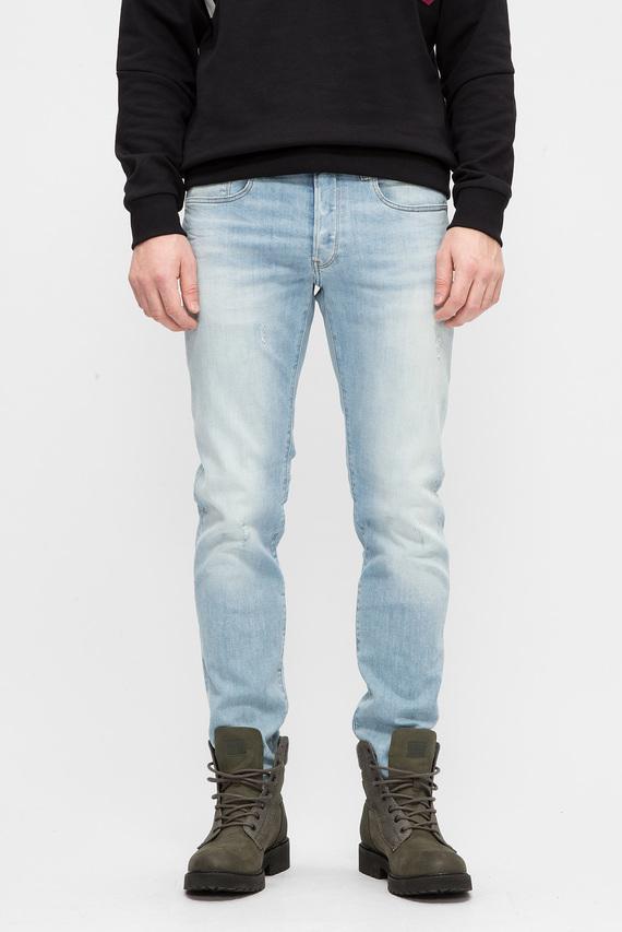 Мужские светло-голубые джинсы 3301 Slim 9260