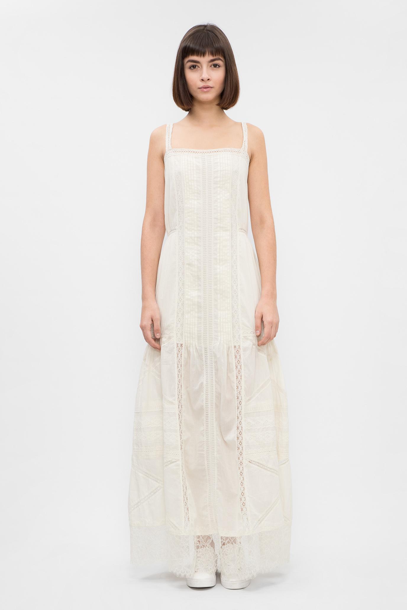 90e09b907ef Купить Женское белое платье с кружевом Diesel Diesel 00SZJ5 0TAPV – Киев