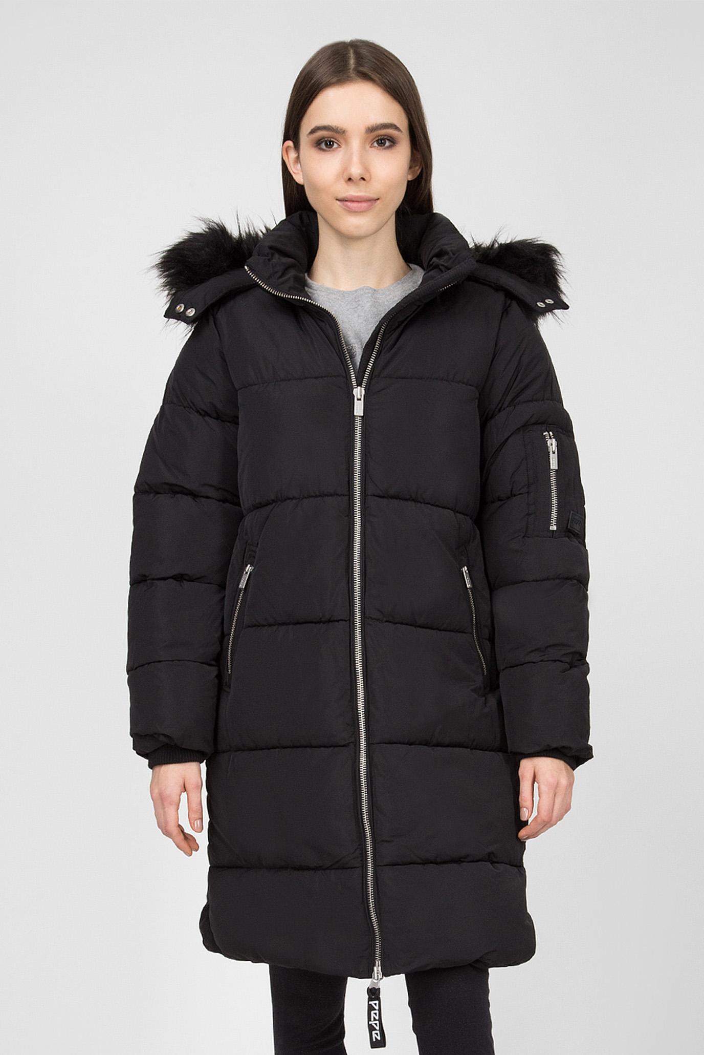 Купить Женская черная куртка BERTA Pepe Jeans Pepe Jeans PL401553 – Киев, Украина. Цены в интернет магазине MD Fashion