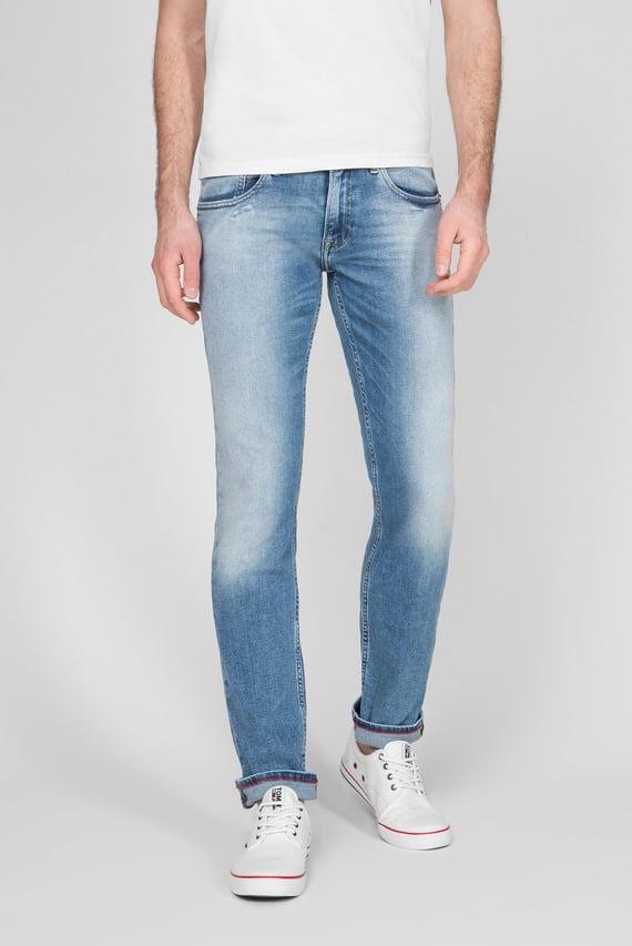 Мужские голубые джинсы SCANTON SLIM