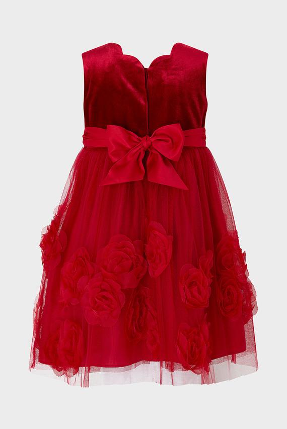Детское красное платье BABY RASHIMA DRESS