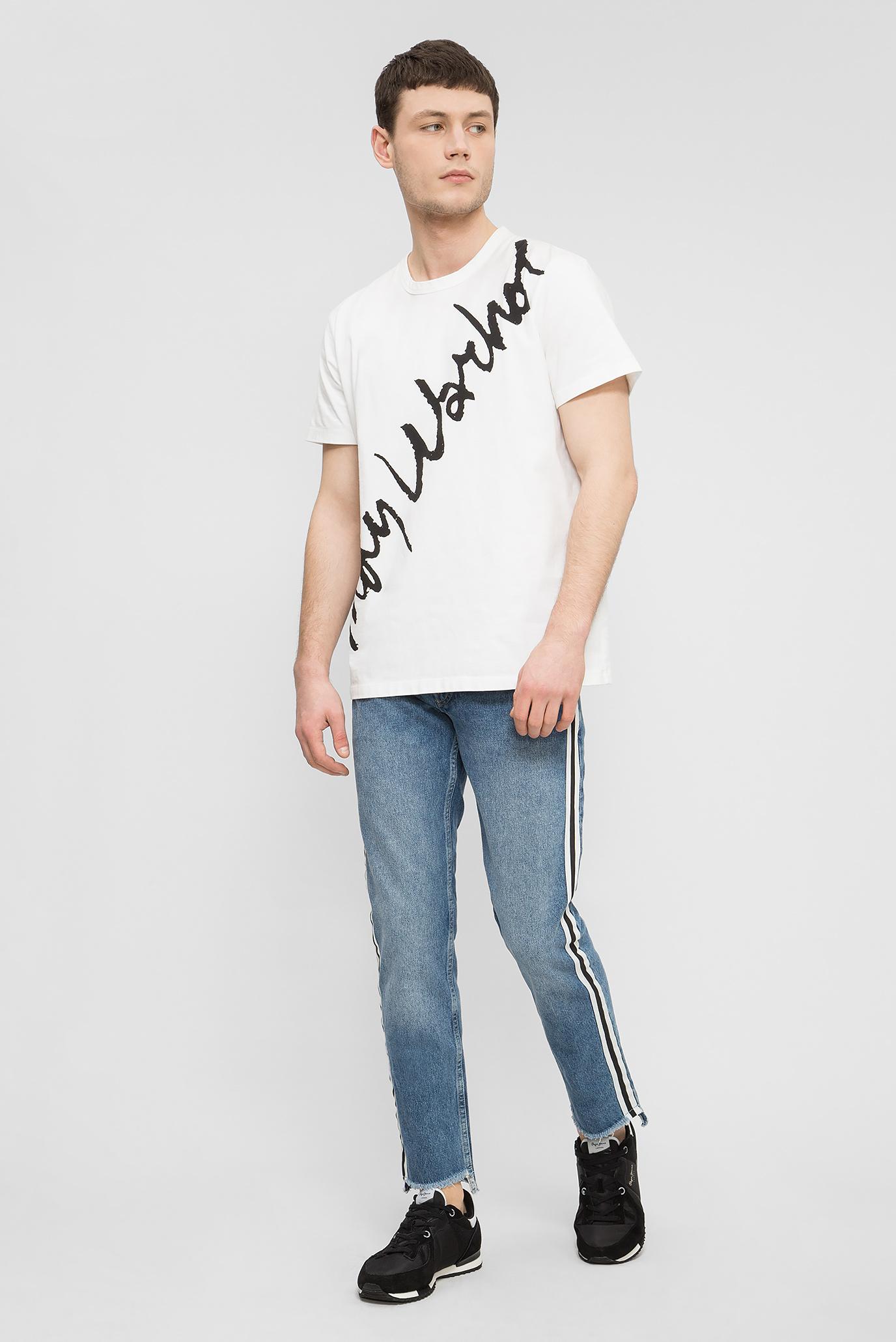Купить Мужские синие джинсы CANE TAPE Pepe Jeans Pepe Jeans PM2024270 – Киев, Украина. Цены в интернет магазине MD Fashion