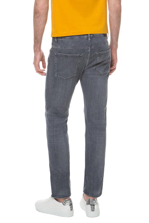 Мужские серые джинсы Candiani Slim Fit