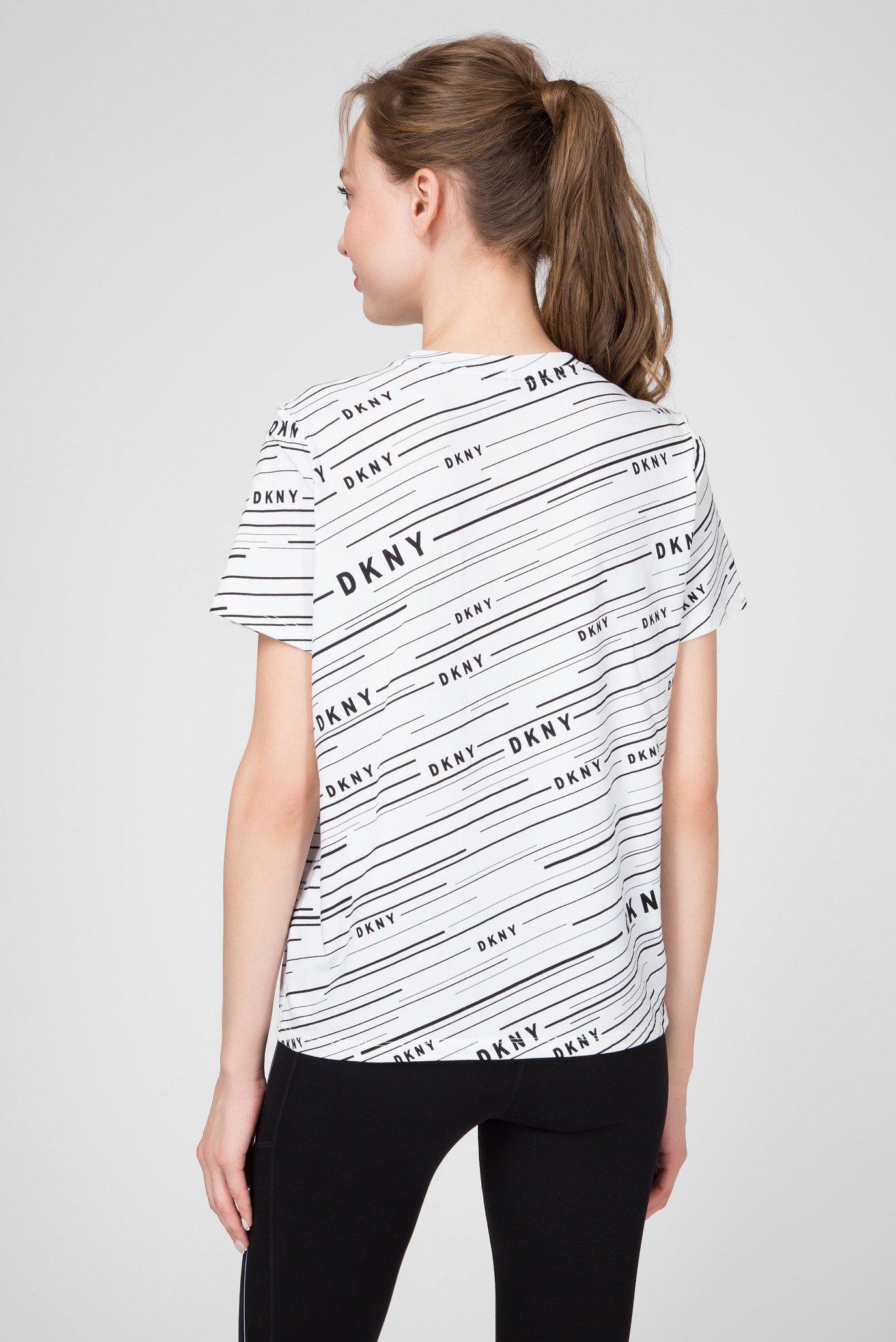 Женская белая футболка DKNY