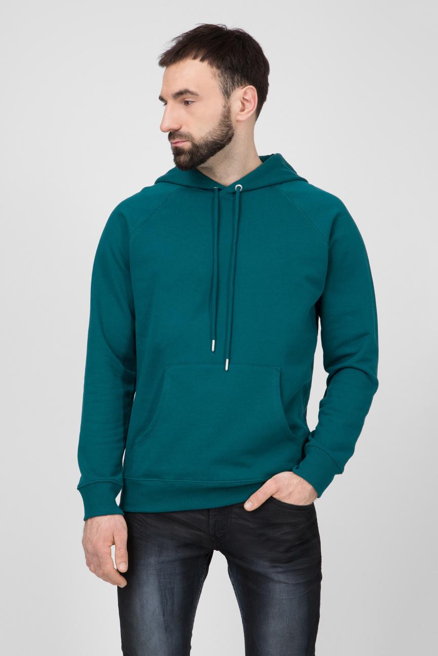 Мужское зеленое худи S-GIM-HOOD-A